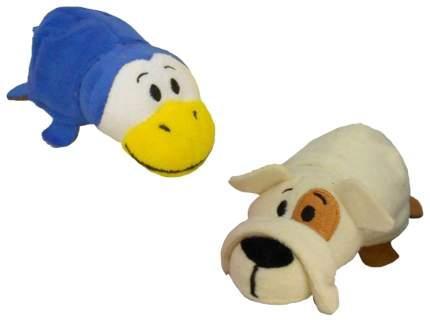 Мягкая игрушка-Вывернушка 1Toy Бульдог-Пингвин 12 см
