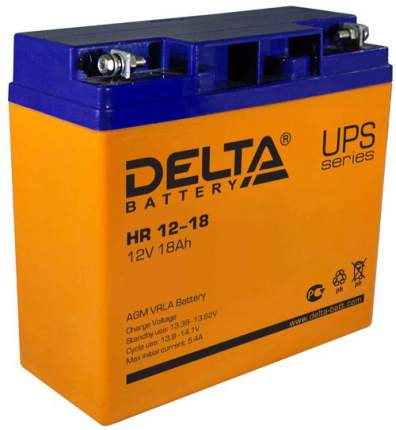 Аккумулятор для ИБП Delta HR 12-18