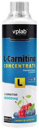 VPLab L-Carnitine Concentrate, 1000 мл, Cherry-Blueberry