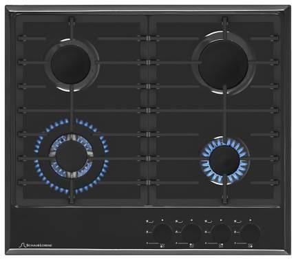 Встраиваемая варочная панель газовая Schaub Lorenz SLK GS6520 Black