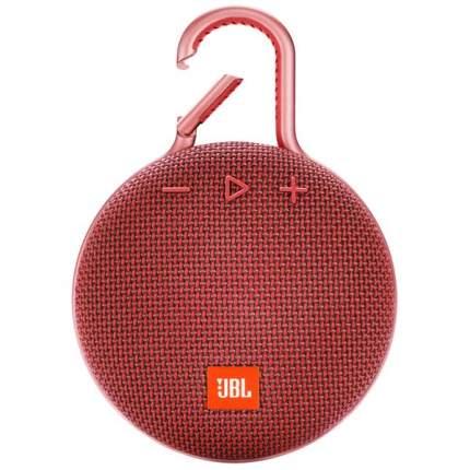 Беспроводная акустика JBL Clip 3 Red (JBLCLIP3RED)