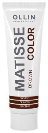 Краска для волос Ollin Professional Matisse Color Коричневый 100 мл