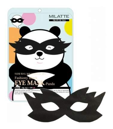 Маска для глаз Milatte Fashiony Black Eye Mask Panda 10 г