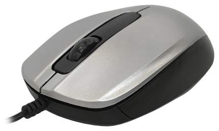 Проводная мышка CBR CM 117 Silver/Black