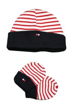Набор: шапка, перчатки для новорожденных Tommy Hilfiger, 46 р-р