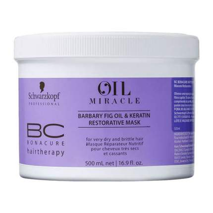 Маска для волос Schwarzkopf BONACURE New Oil Miracle Barbary Fig Mask
