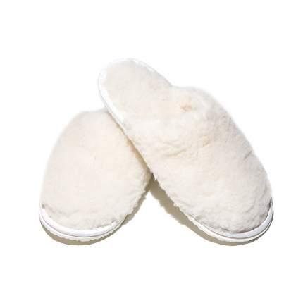 Домашние тапочки женские Smart-Textile Домашнее тепло белые 38-39 RU