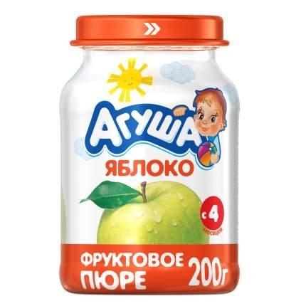Пюре фруктовое Агуша Яблоко с 4 мес 200 г