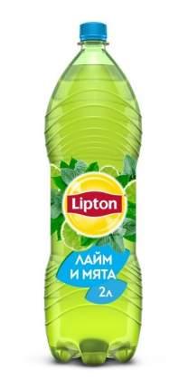 Чай зеленый Lipton лайм и мята 2 л