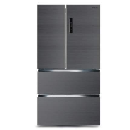 Холодильник Ginzzu NFK-470 Grey