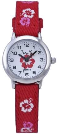 Наручные часы Тик-Так Н114-4 бордовые цветы