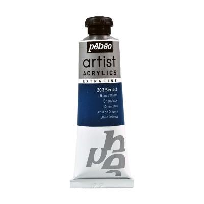 Акриловая краска Pebeo Artist Acrylics extra fine №2 синий восточный 37 мл