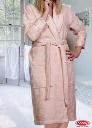 Банный халат HOBBY HOME COLLECTION Eliza Цвет: Персиковый (S)