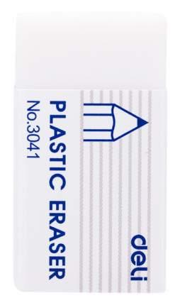 Ластик Deli Scribe E3041 белый картон.кор.