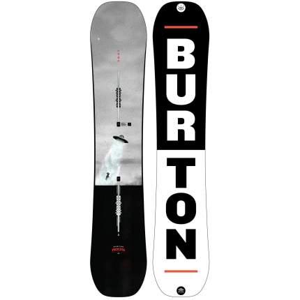 Сноуборд Burton Process FV 2020, black/grey, 159W см