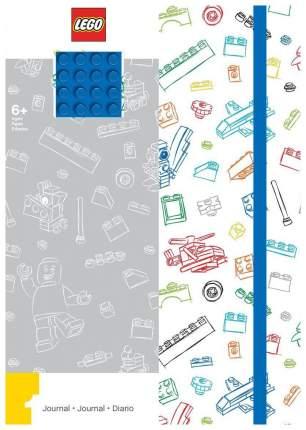 Записная книжка с резинкой Lego 96 листов, линейка