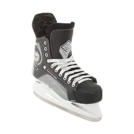 Коньки хоккейные Спортивная Коллекция Profy Lux 5000, черный, 37 RU