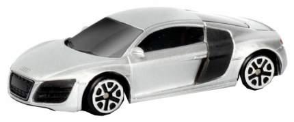Машина металлическая RMZ City 1:64 Audi R8 V10, без механизмов, (серебристый) 344996S-SIL