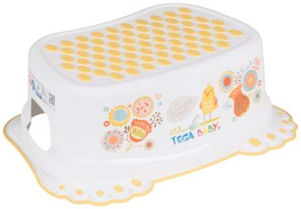 TEGA Подставка для ванны Фолк, антискользящая, цвет: белый УТ0009174