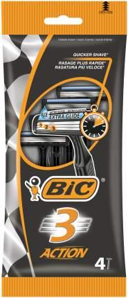Станок для бритья BIC 3 Action 4 шт