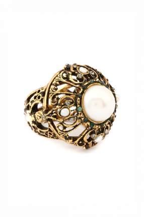 Кольцо женское ALCOZER A4641C золотистое/бежевое р.17