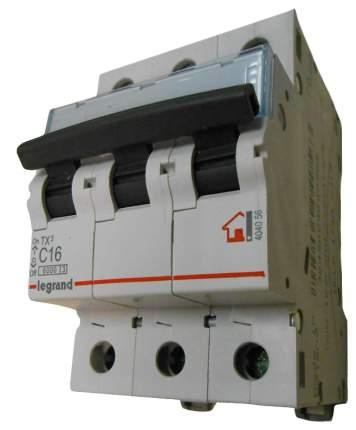 """Выключатель автоматический модульный """"TX3"""", 3 п, 3 м, 16 А, 6 кА, АС, арт. 404056"""