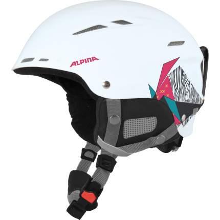 Горнолыжный шлем Alpina Biom 2019, белый/розовый, L