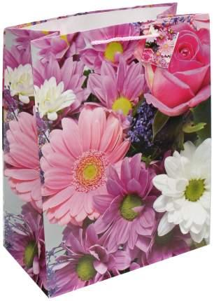 """Пакет подарочный """"Цветочная гамма"""", 26х33х14 см"""