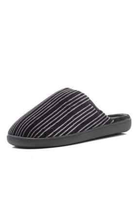 Домашние тапочки мужские Isotoner 96625-1 черные 45 RU