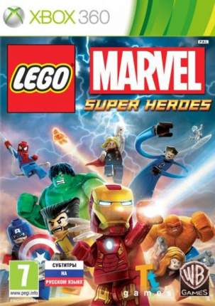 Игра LEGO Marvel Super Heroes для Xbox 360