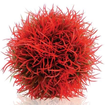 Искусственное растение для аквариума biOrb Красный водный шар, 10х10х10см