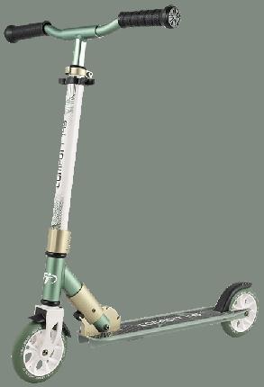 Детский самокат Tech Team 145 comfort 2020 зелено-белый