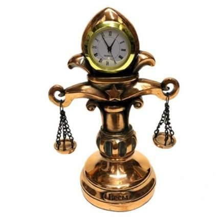 Статуэтка Часы-Знак зодиака Весы 1128, 15 см
