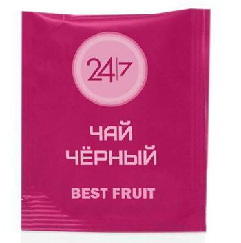 Чай черный 24/7 фруктовый 500 пакетиков