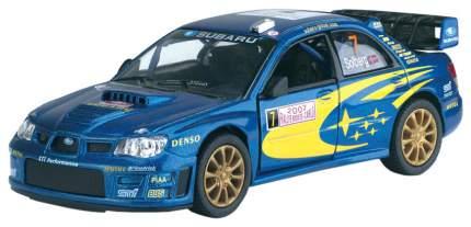 Машина инерционная Kinsmart Subaru Impreza WRC, масштаб 1:36, металл, открываются двери