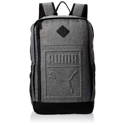Рюкзак Puma Essential medium gray heather 27 л