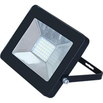 Прожектор SLIM LED 10W 4200K IP65 Черный Ecola