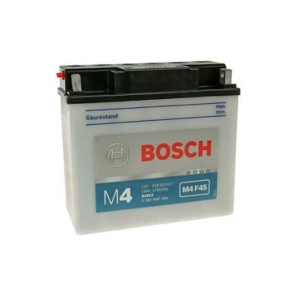 0 092 M4f 450_аккумуляторная Батарея! Евро 19ah 170a 186/82/171 51913 Moto Bosch