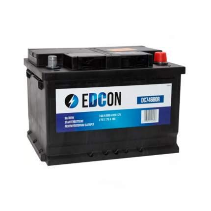 Dc74680r_аккумуляторная Батарея! 19.5/17.9 Евро 74ah 680a 278/175/190 EDCON