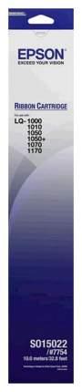 Картридж для матричных принтеров Epson C13S015022BA Черный