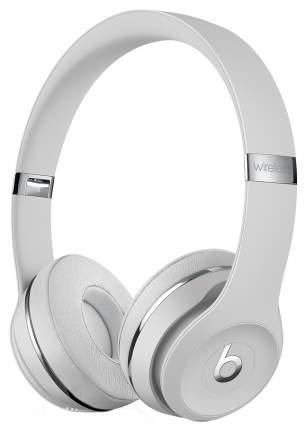 Беспроводные наушники Beats Solo3 Wireless On-Ear Headphones Satin Silver (MUH52EE/A)