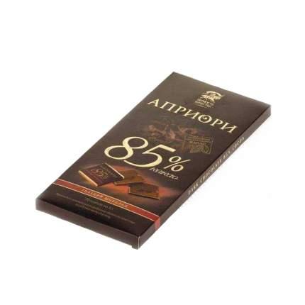 Шоколад горький верность качеству Априори 85% какао 100 г