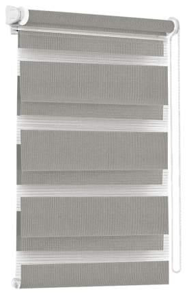 Рулонная штора Эскар День-Ночь 170х90 цвет серый