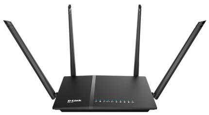 Wi-Fi роутер D-Link DIR-825 Black