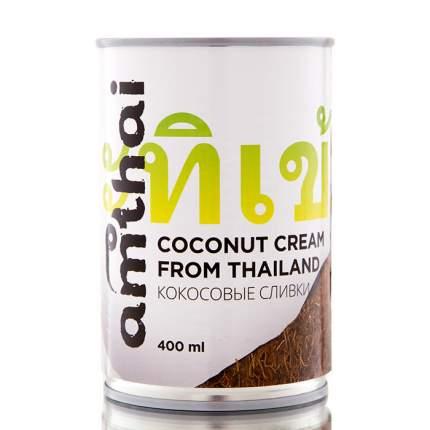Кокосовые сливки Amthai жирность 20-22% 400 мл