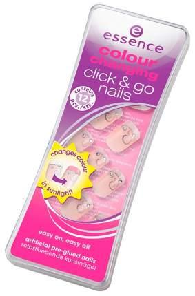 Накладные ногти Essence Nail Art Colour Changing Click & Go Nails 01 Love 12 шт