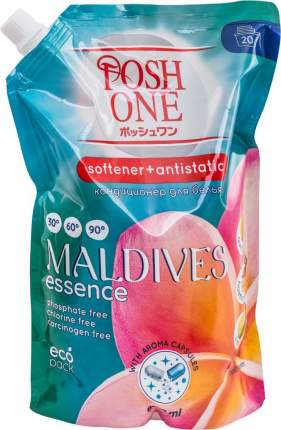 Кондиционер для белья Posh One aroma capsul Мальдивы сменный блок 800 мл