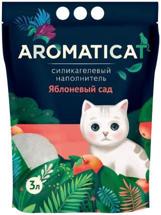Силикагелевый наполнитель туалета для кошек Aromaticat Яблоневый сад AC23