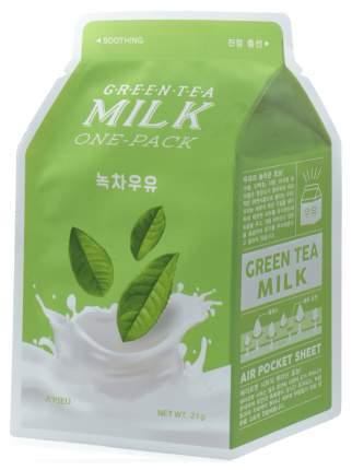 Маска для лица A'Pieu Green Tea Milk One-Pack 21 г