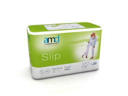 Подгузники для взрослых AMD Slip Super М 20 шт.